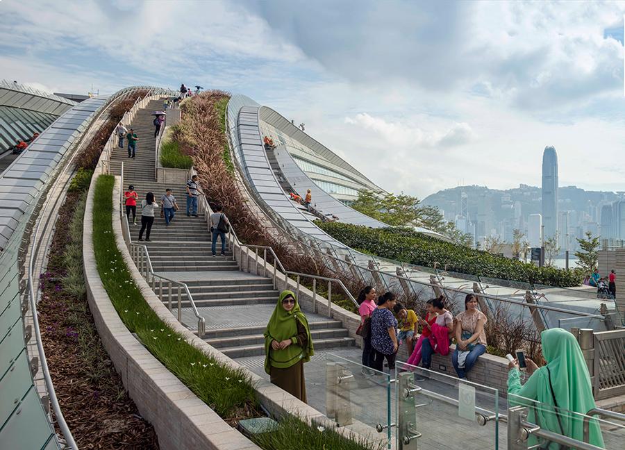 west kowloon rail station aedas