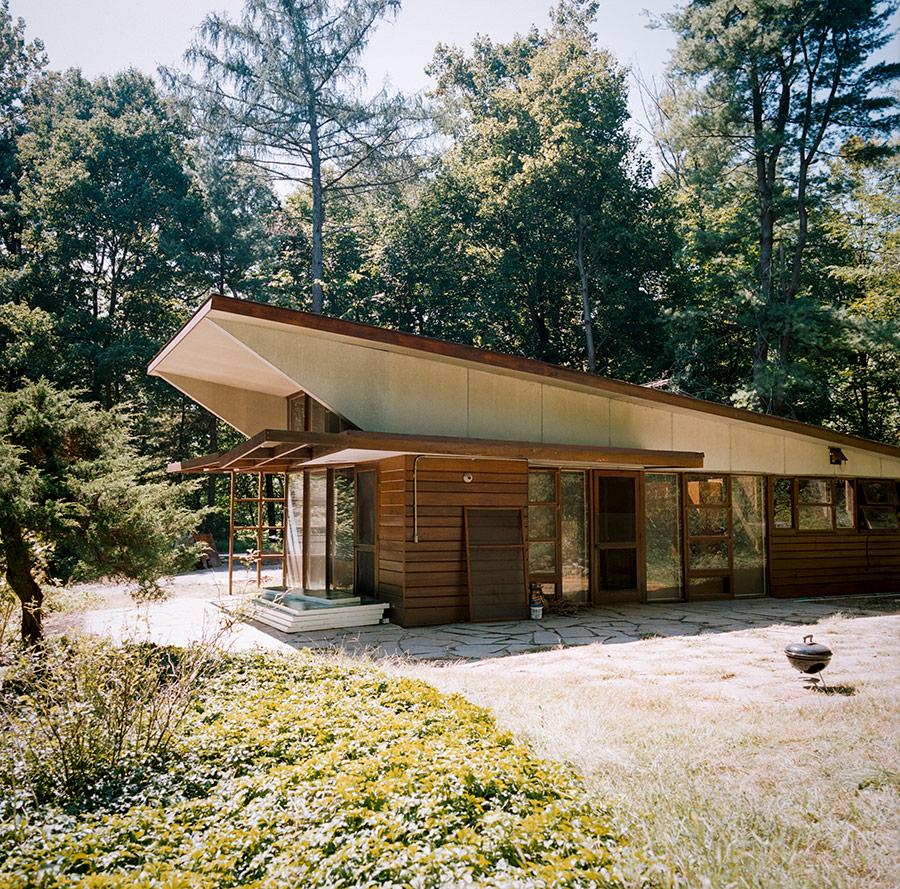 Kaneji Domoto usonia house exhibition photography