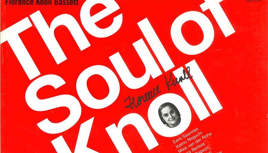 soul florence knoll 2001 digital reprint 