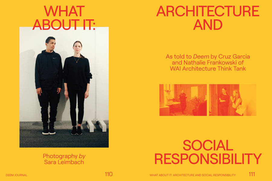 What About It Architecture And Social Responsibility