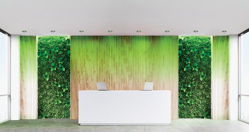 App Calculite Intellihue Officelobby Green Juniper Universe Launch 4