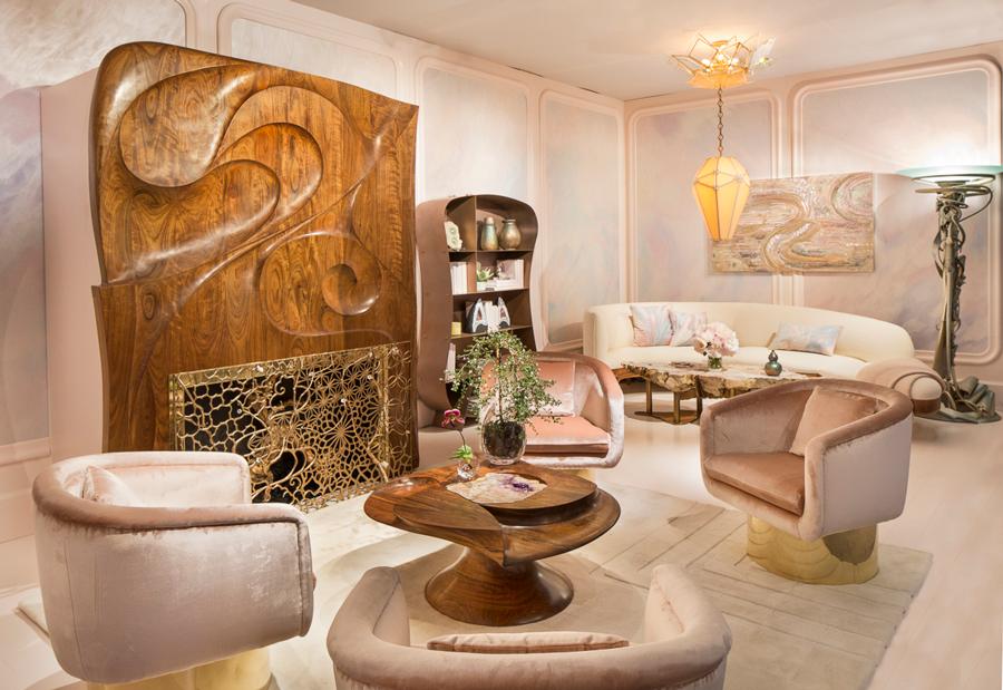 Amy Lau New Nouveau living room