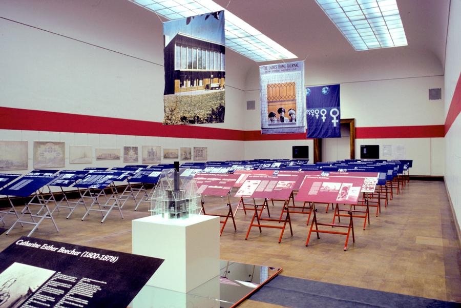 women feminism american architecture