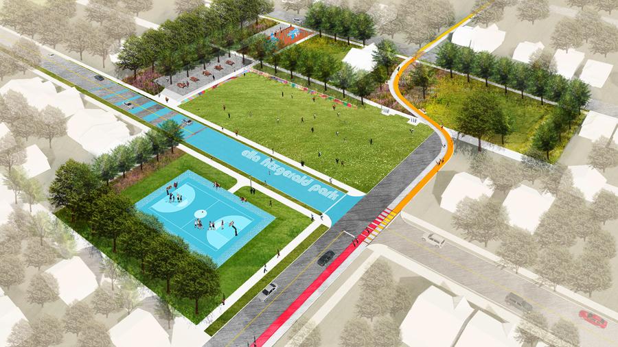 detroit ella fitzgerald park design