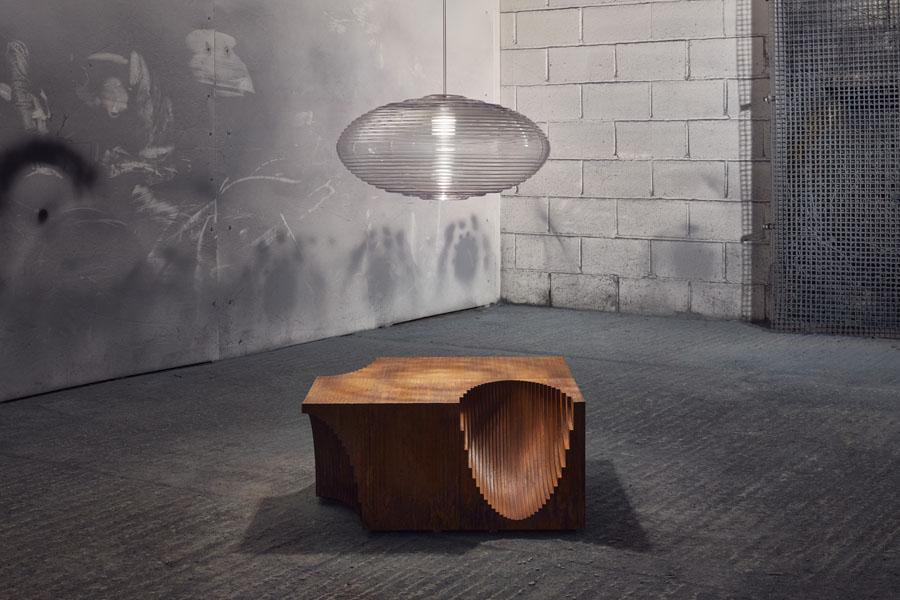 Paul Cocksedge + Friedman Benda Gallery Performance Rearranged
