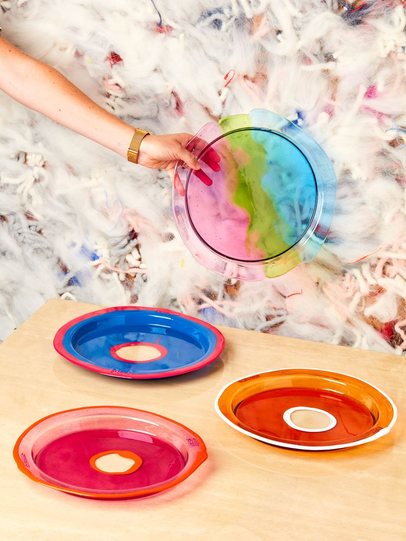 Coming Soon Round Tray By Gaetano Pesce
