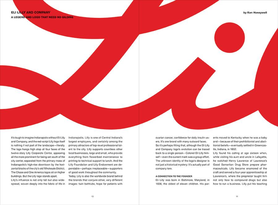 graphic design magazine Commercial Article