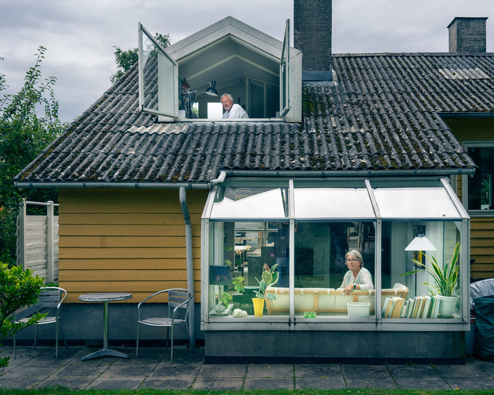 Couple In Yellow House C Juuso Westerlund