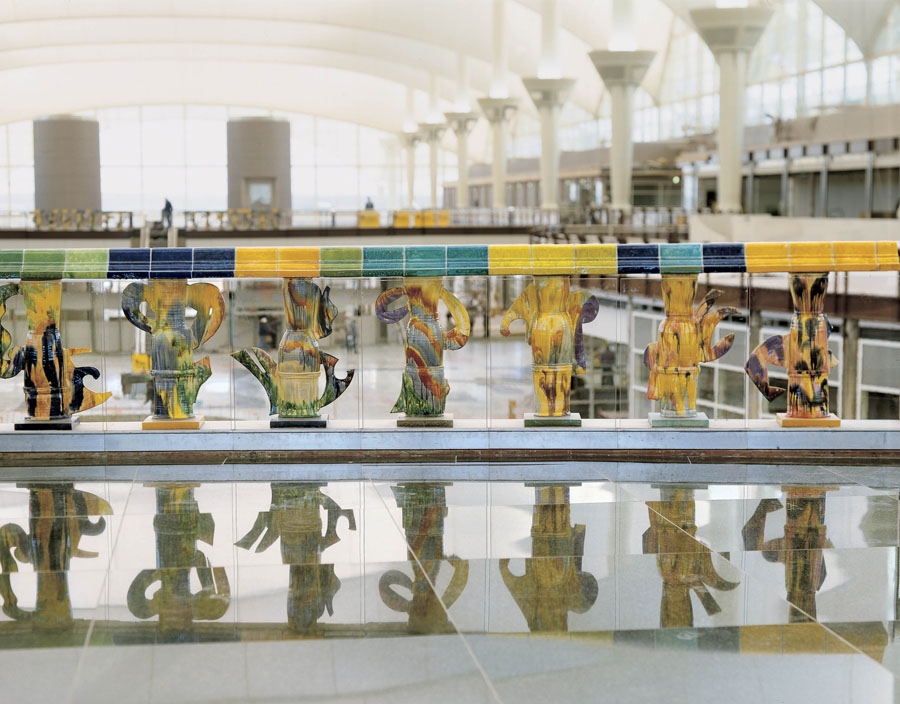 Denver Airport Balustrade01