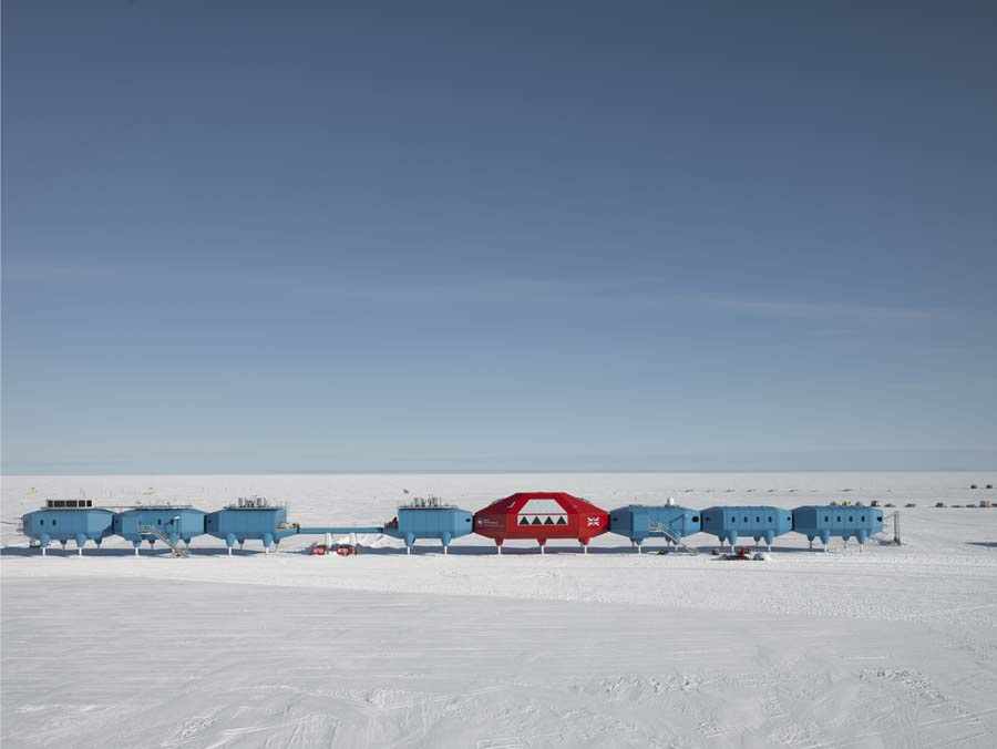 Hugh Broughton Scott Base Antarctica