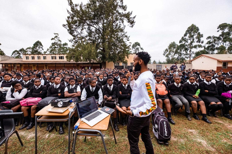 Wandile Mthiyane High School Talk