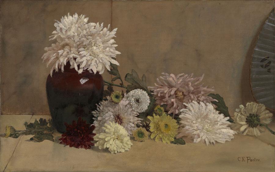 Charles Ethan Porter, American, 1847 1923 (artist); Chrysanthe