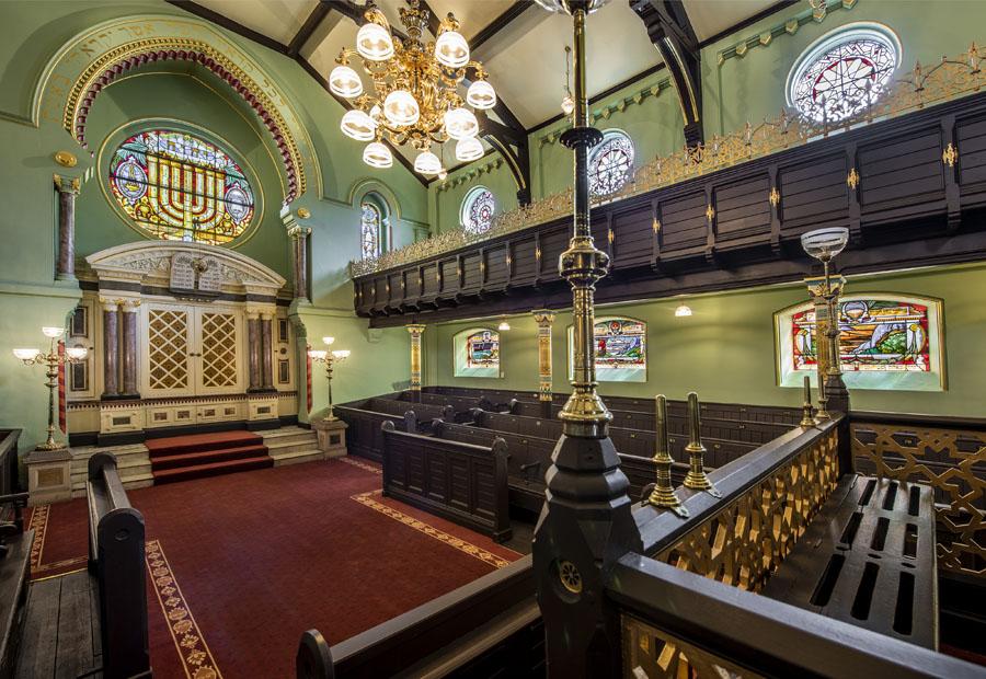 19 Joel Chester Fildes Manchester Jewish Museum Synagogue 2021