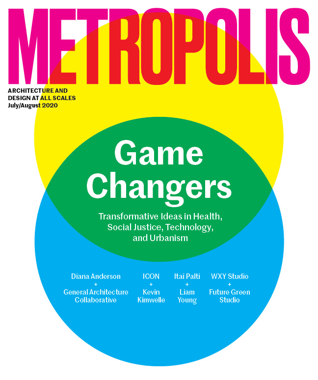 July / August 2020 Metropolis cover