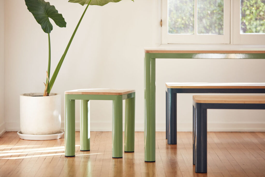 Tables and stools from RAD Furniture