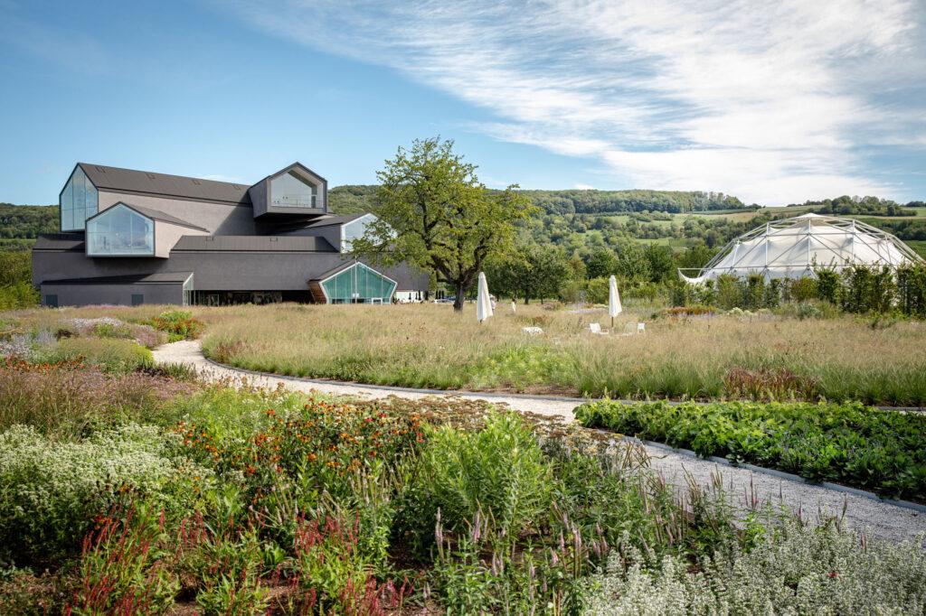 A new garden at Vitra's headquarters