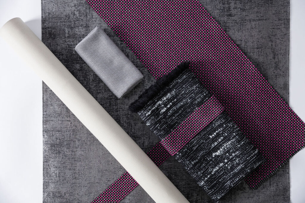 A palette of Brentano fabrics