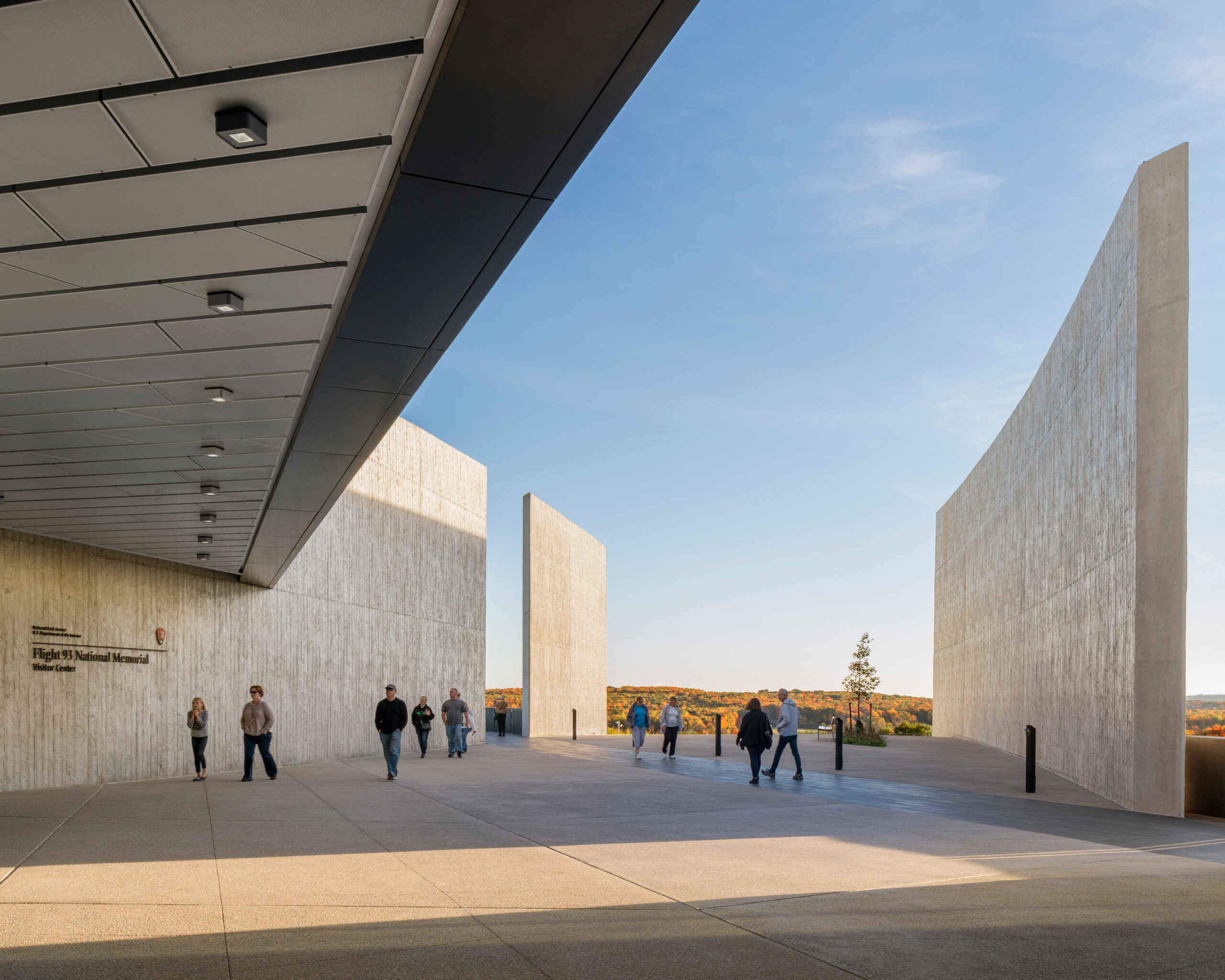 Flight 93 National Memorial. Paul Murdoch Architects.