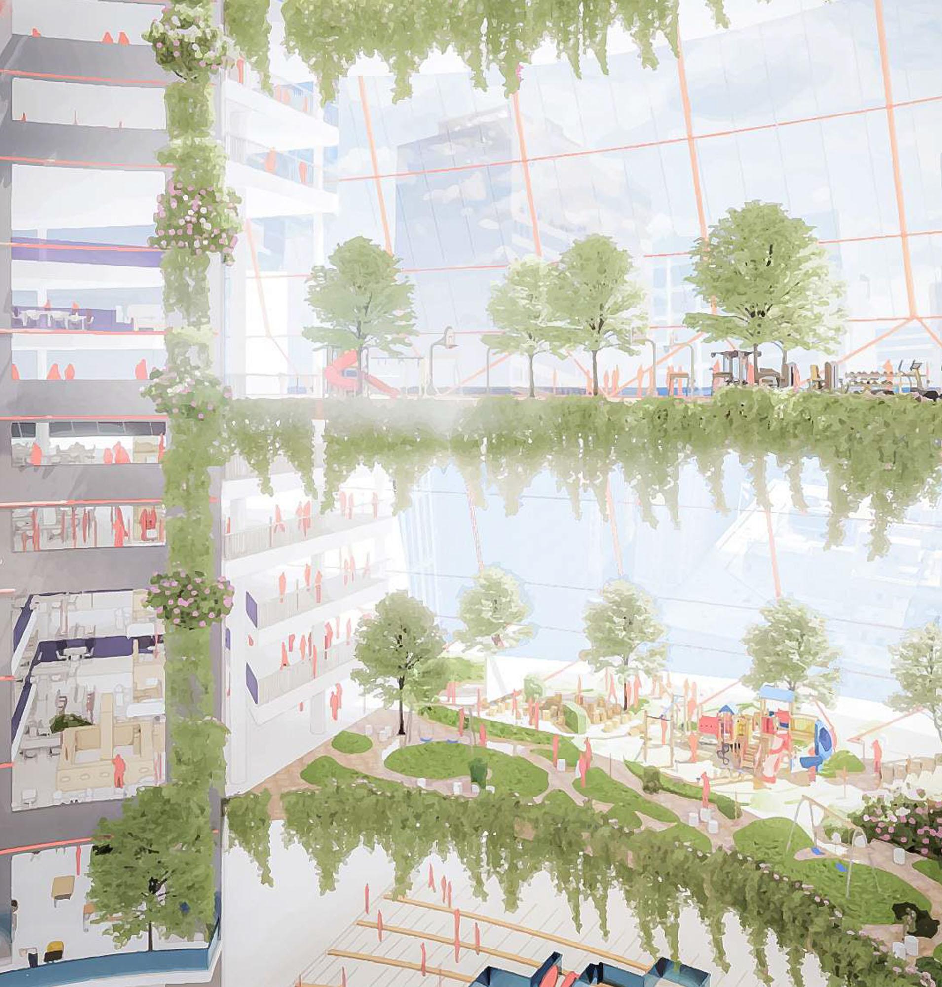 atrium rendering