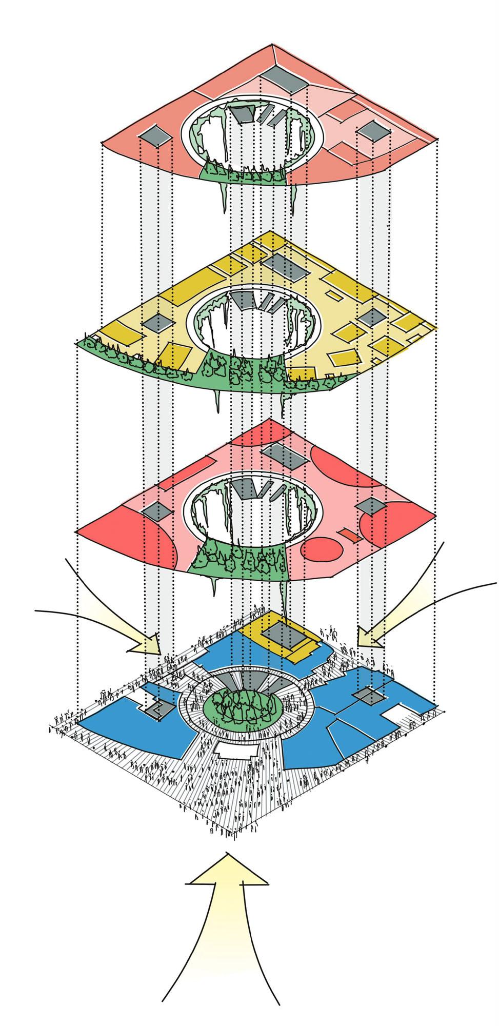 floor use rendering