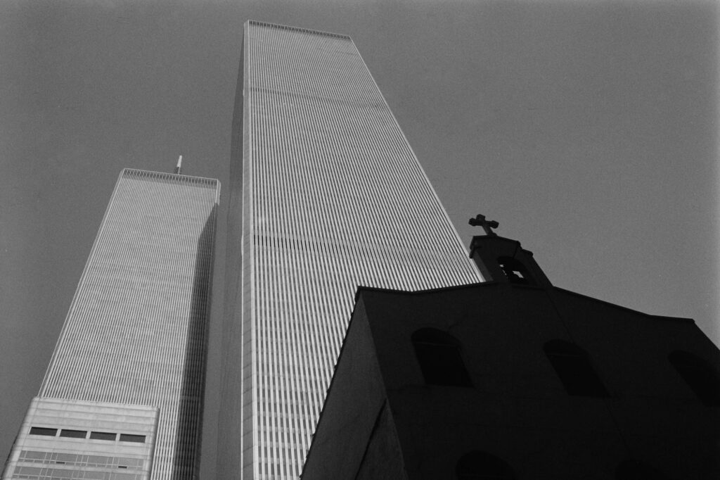 The World Trade Center in New York City