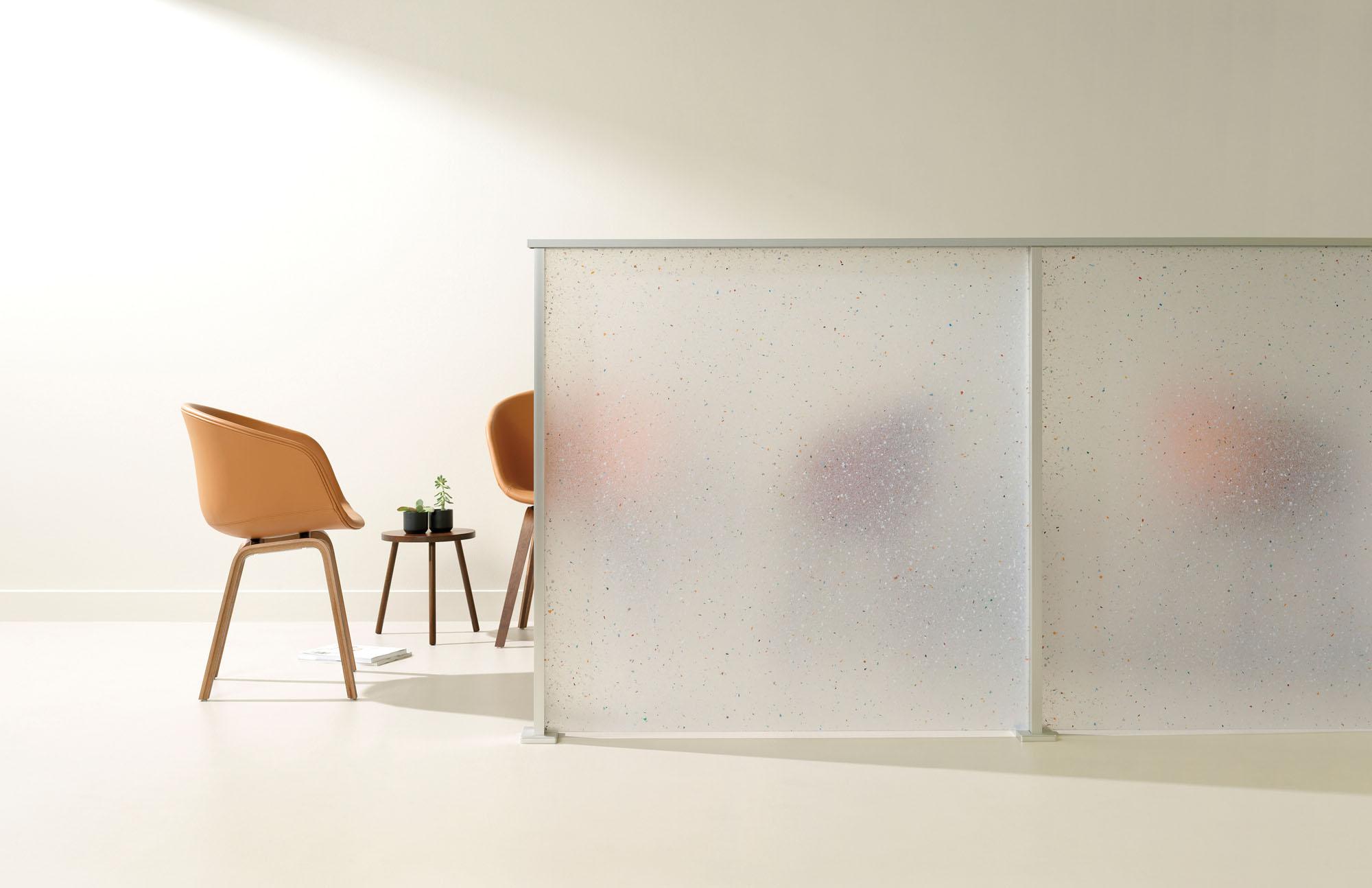 translucent workplace divider