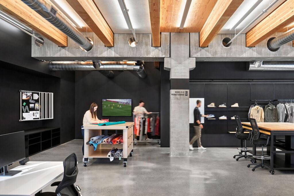 adidas retail interior