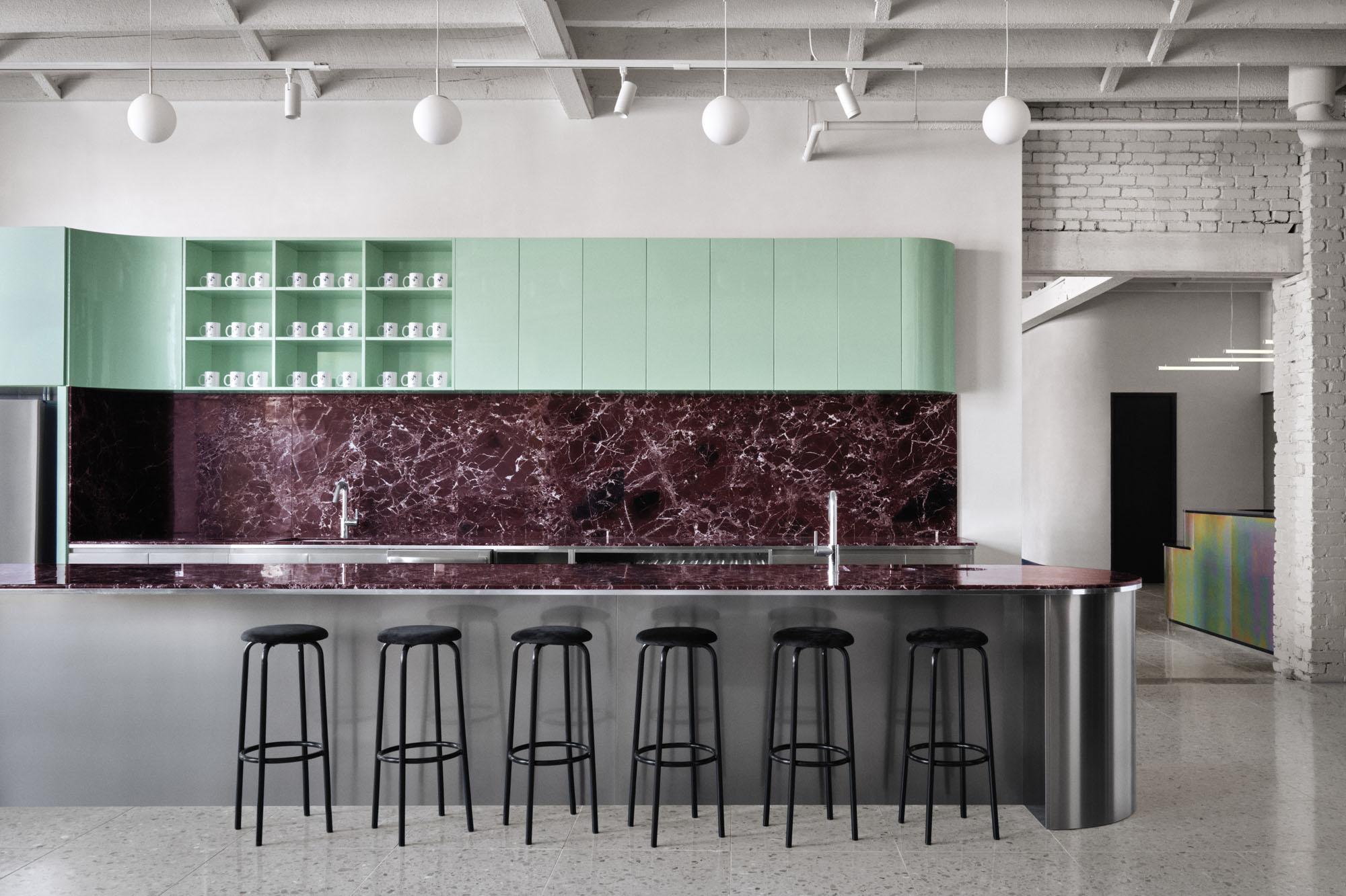 office kitchen interior