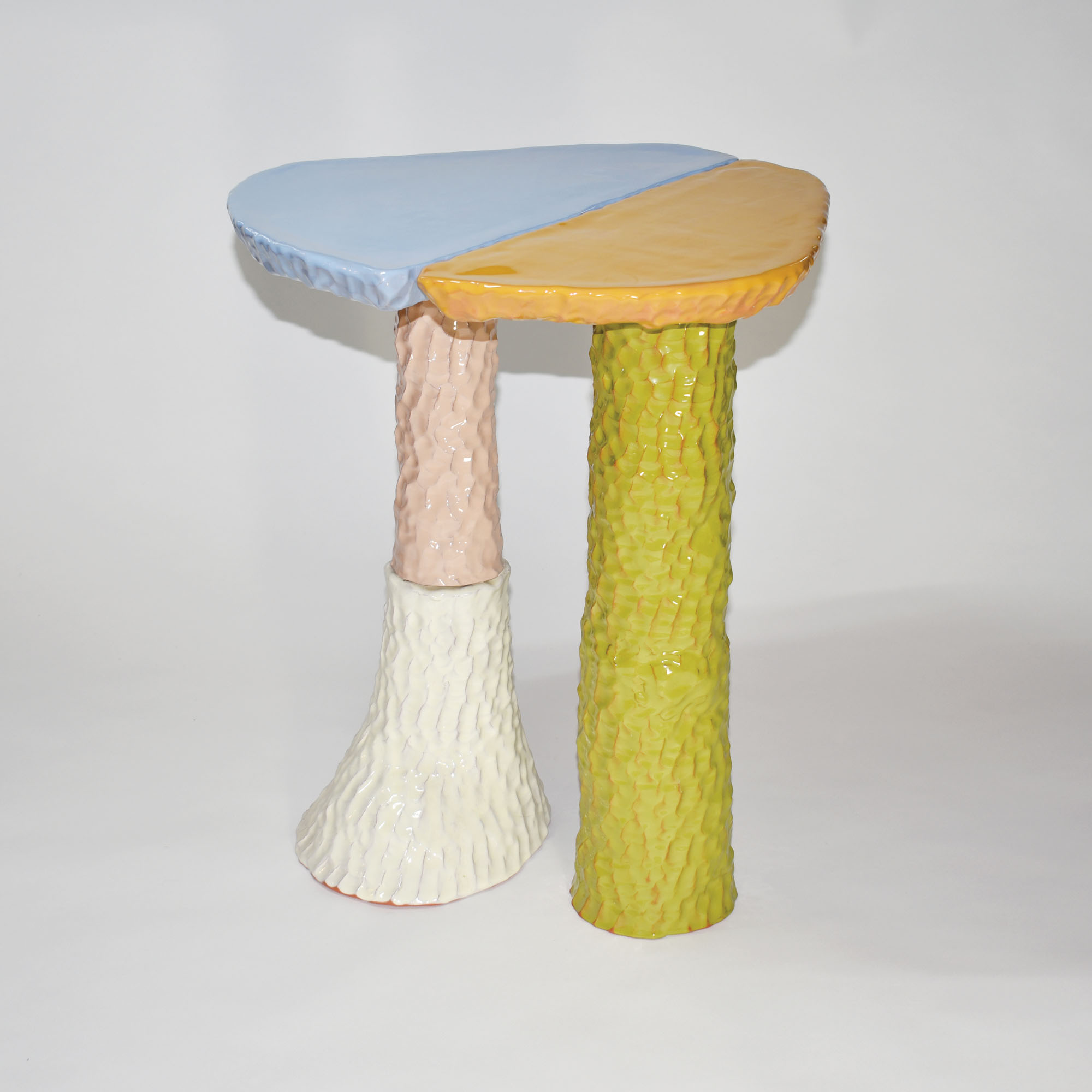 A ceramic table